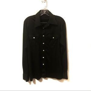 Givenchy for Chesa Vintage Button Down Blouse